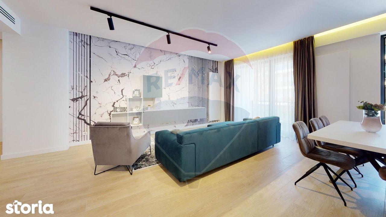 Apartament cu 3 camere de inchiriat mobilat ROVERE in Iancu Nicolae