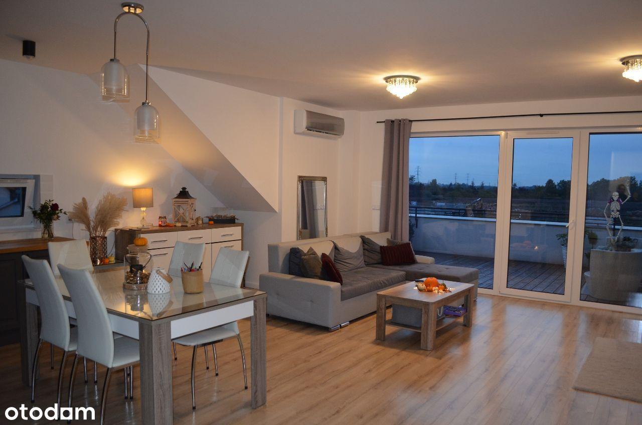 Chmielowice- apartament z tarasem w nowej willi