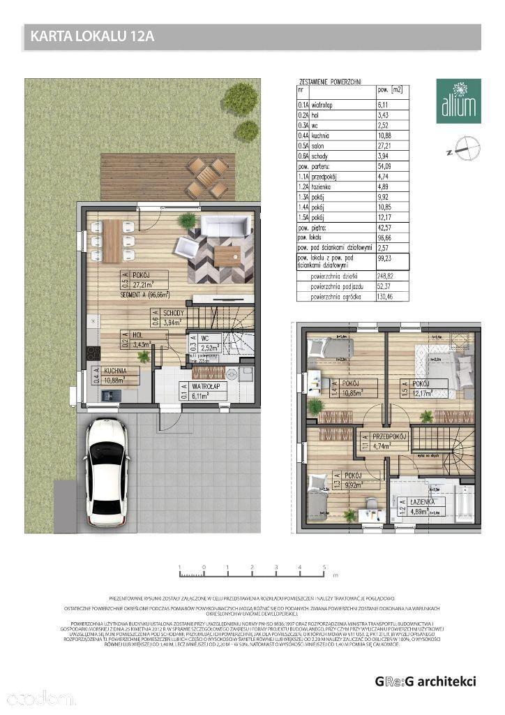 Segment A - 99,23 m2