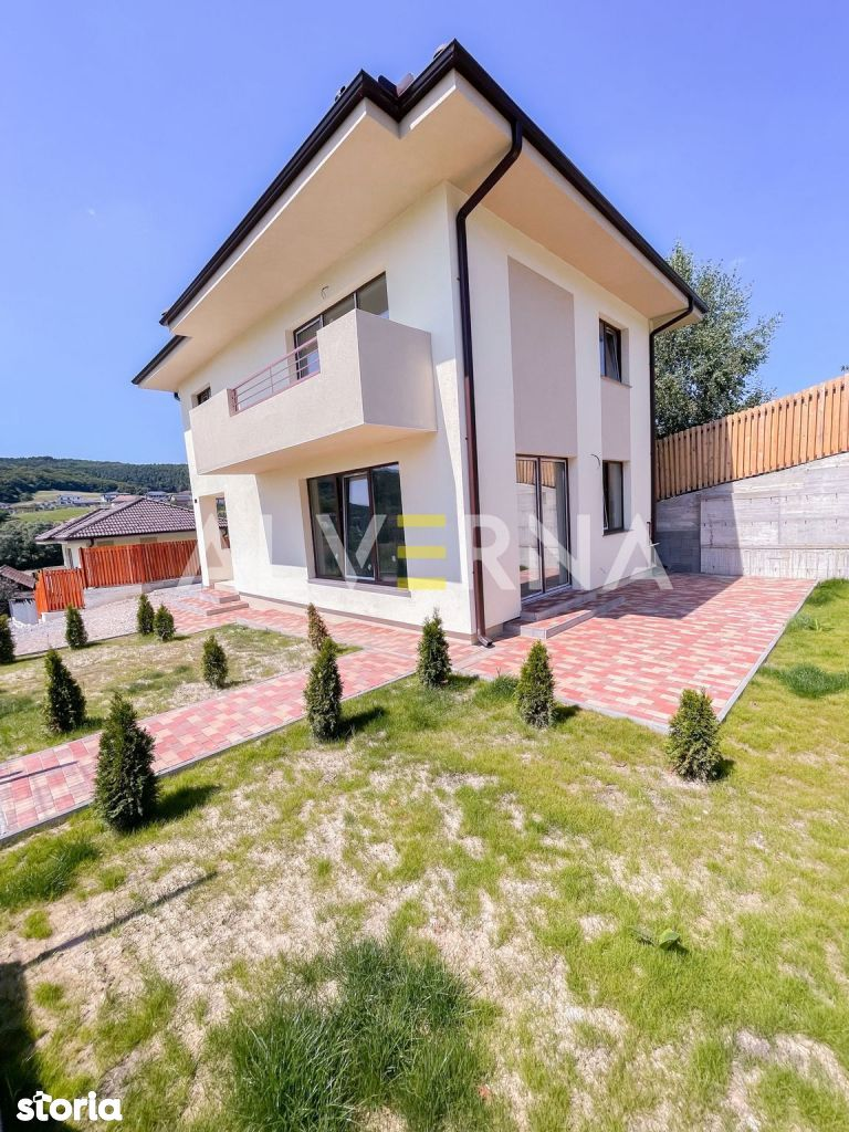 Casa Individuala 4 camere, 110 mp, teren 650 mp, Popesti Baciu