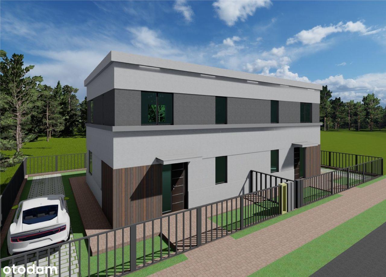 Dom w zabudowie bliźniaczej 102 m2