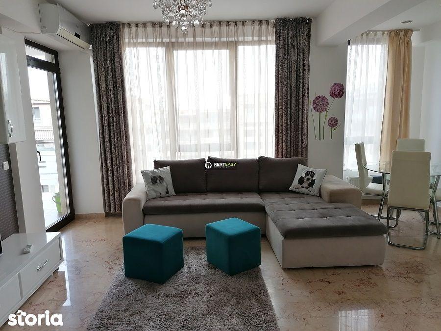 Apartament cu 2 camere de inchiriat in bloc nou situat in Copou