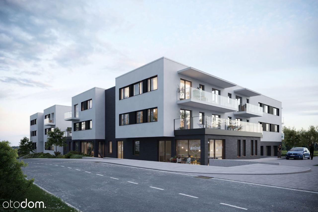 Lokal usługowy 64 m2 w nowym apartamentowcu