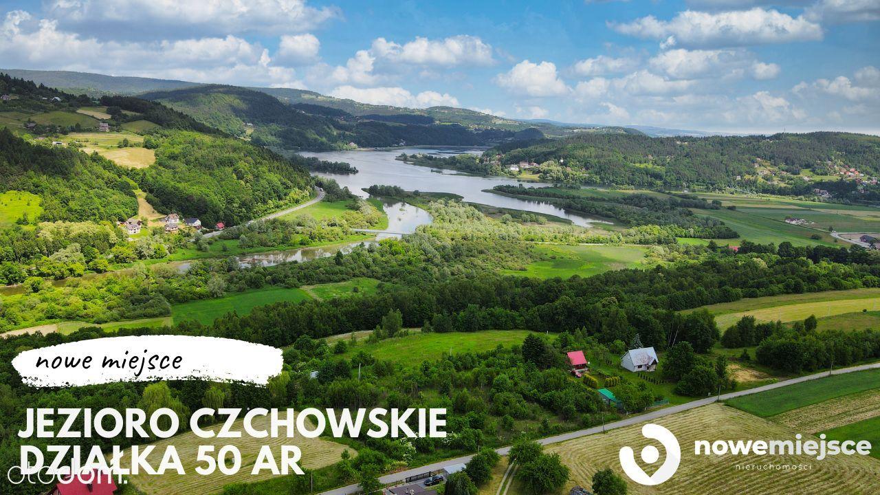 Działka z widokiem na jezioro Czchowskie! Zieleń