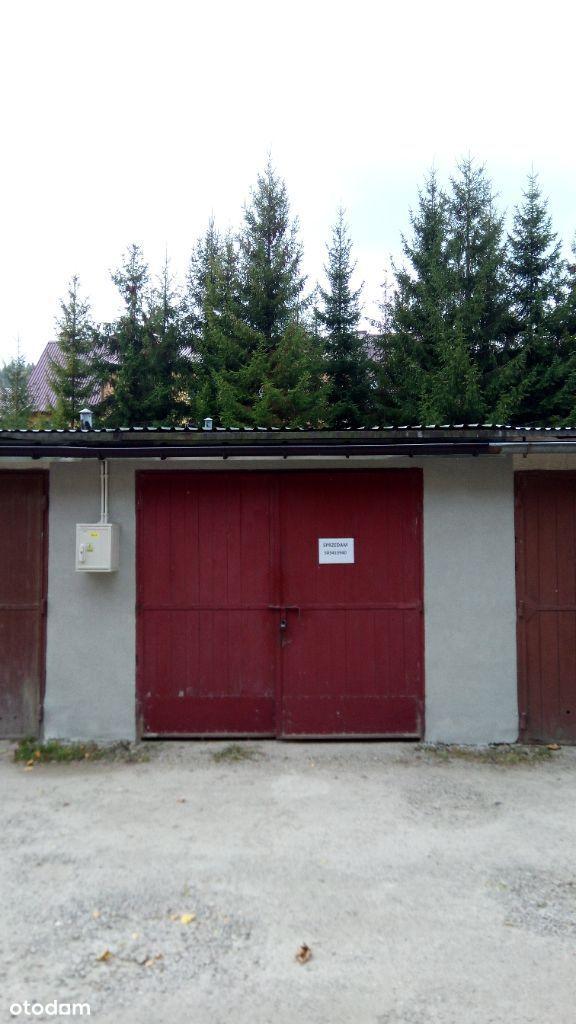 Garaż murowany ul Łukasiewicza