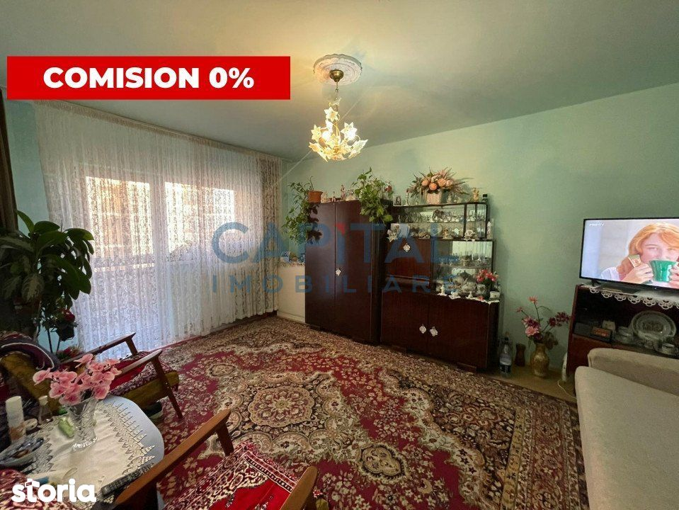 Apartament 4 camere decomandat, 2 balcoane, 2 bai, 77mp, comision 0%!