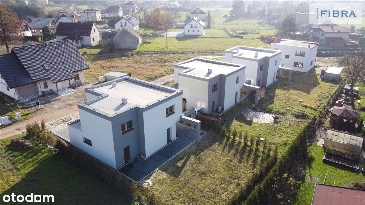 Nowy dom z 2 tarasami i garażem - 160m2