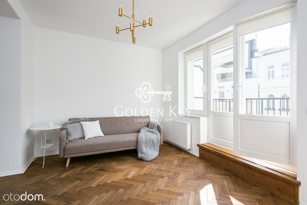 Stylowy apartament z dużymi tarasami,ul.Mokotowska