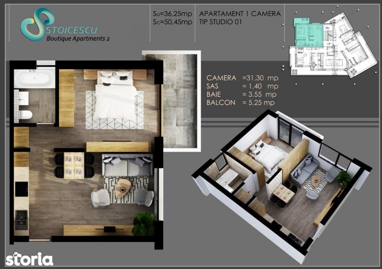 Apartament 2 camere, Copou -Parc Expo, Stoicescu Boutique Apartments 2