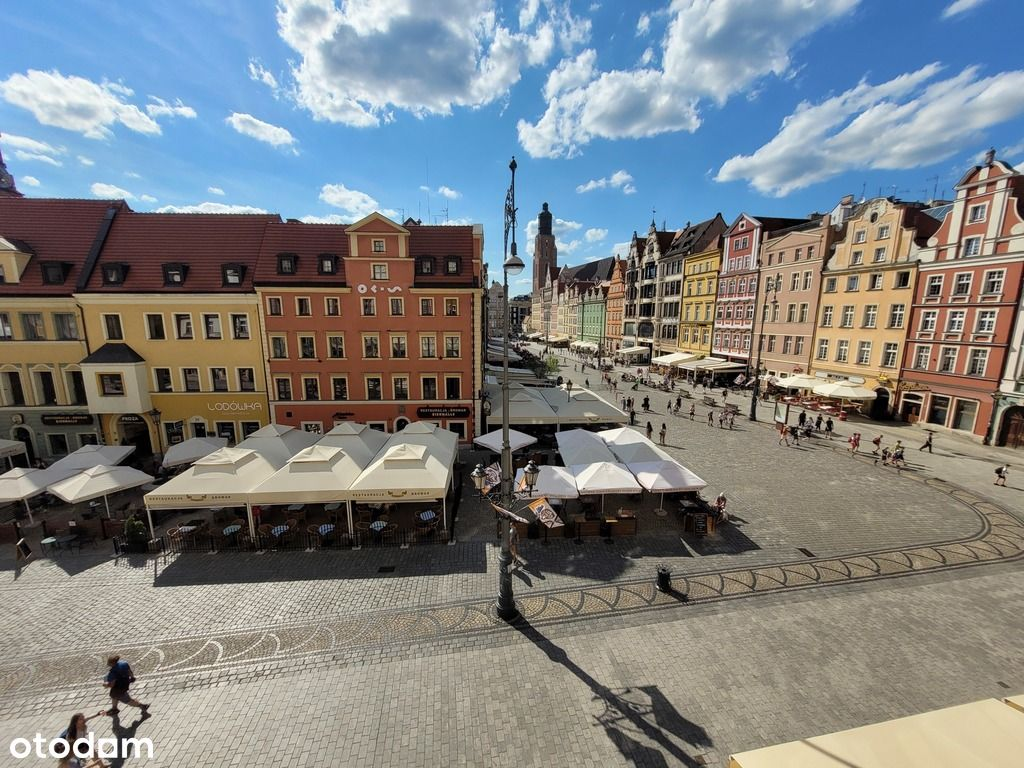 Rynek !!!!! 2 pok. z widokiem na Rynek Wrocławski