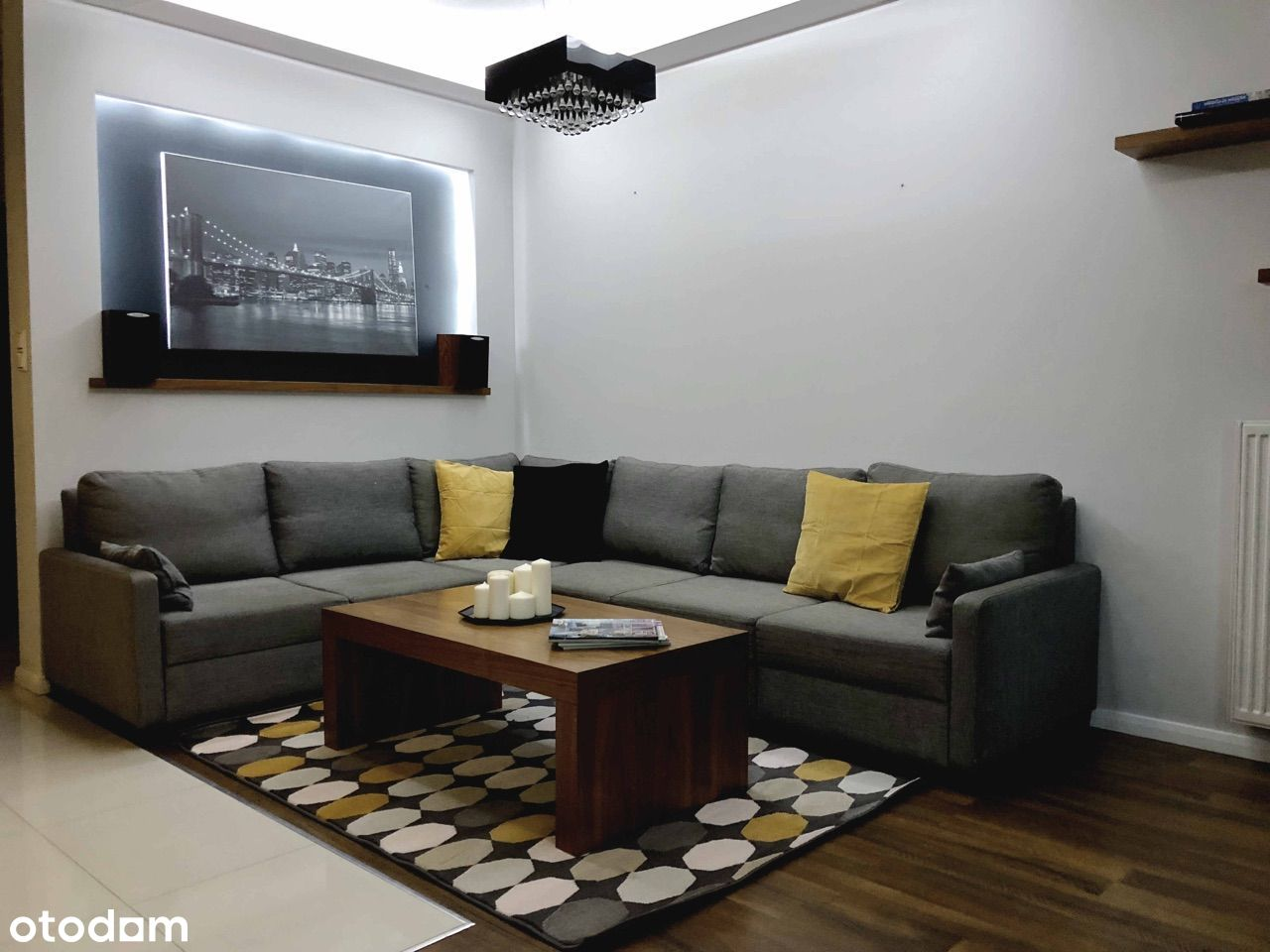 Piękne studio apartament - Centrum Muranów Pokorn
