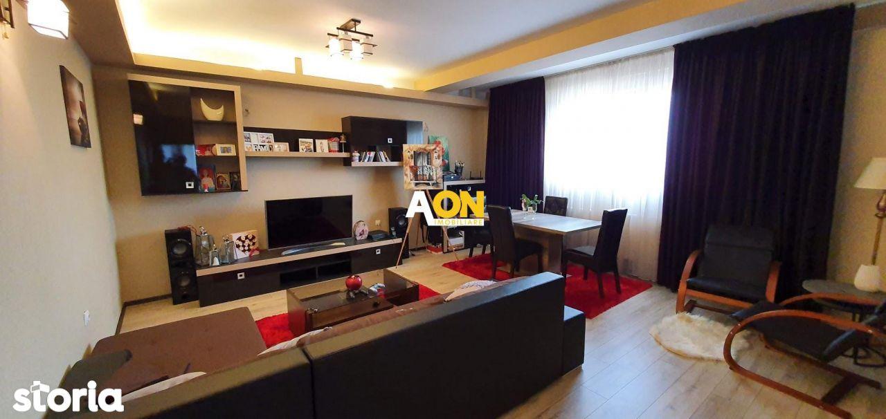 Apartament 3 camere, 105 mp utili, mobilat si utilat, bloc nou