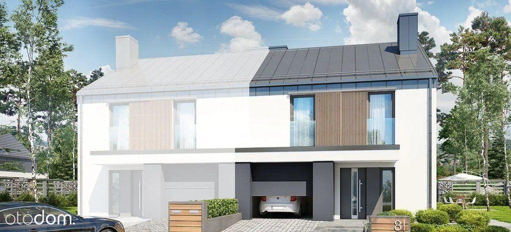 Komfortowy dom w zabudowie bliźniaczej - Banino