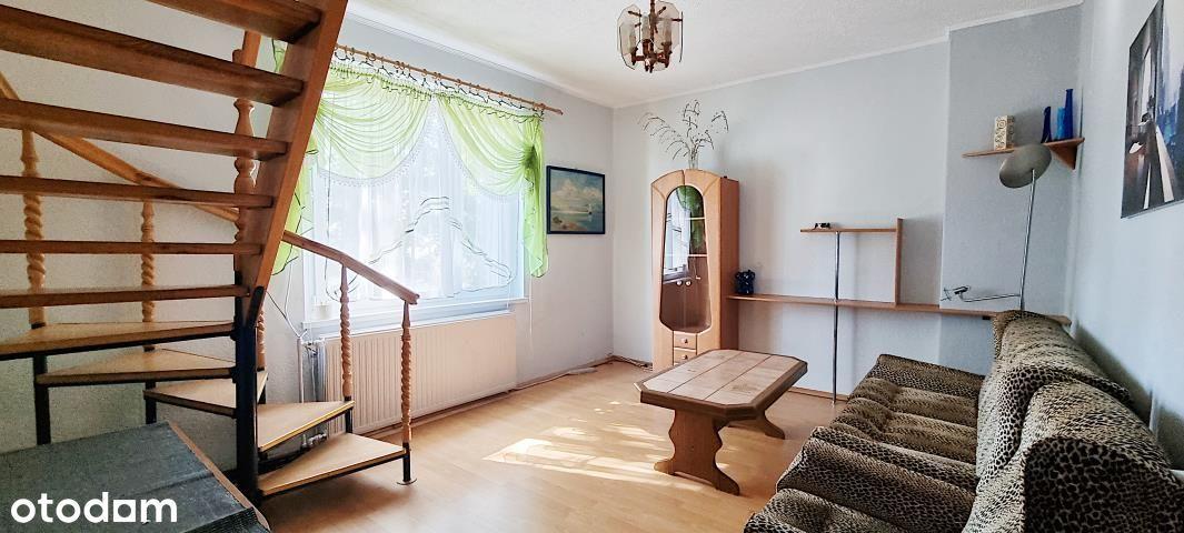 Dwupoziomowe mieszkanie na bliskim Zaodrzu