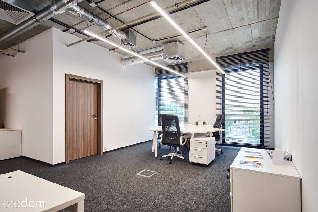 Wyposażone 2-pokojowe biuro klasy premium, parking