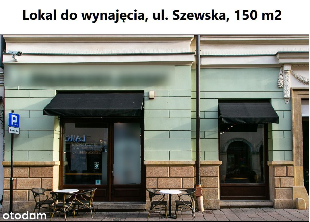Lokal do wynajęcia, ul. Szewska, Gastronomia 150m2