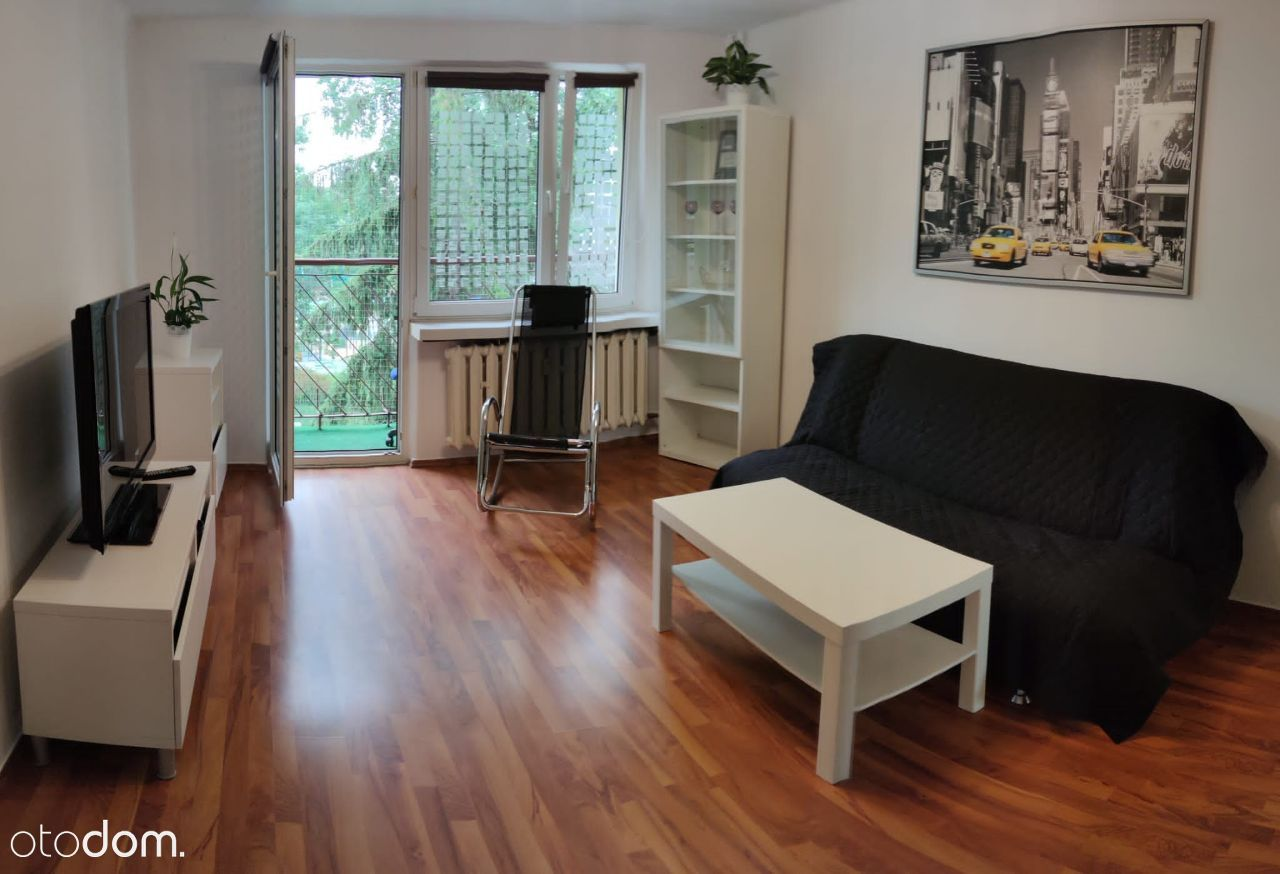 Przestronne, jasne 2-pokojowe mieszkanie