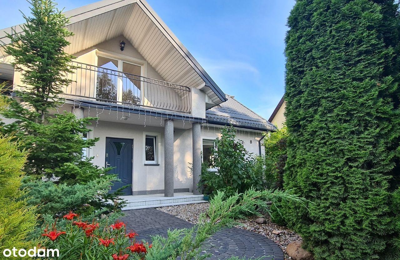 *** Wspaniały dom w Klepaczach / piękny ogród ***