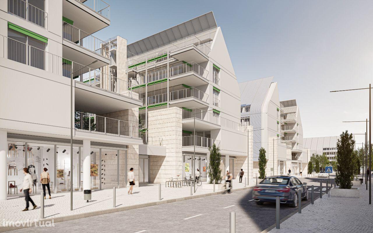 Edifício WEST - Apartamento T1, Bloco A-1ºF