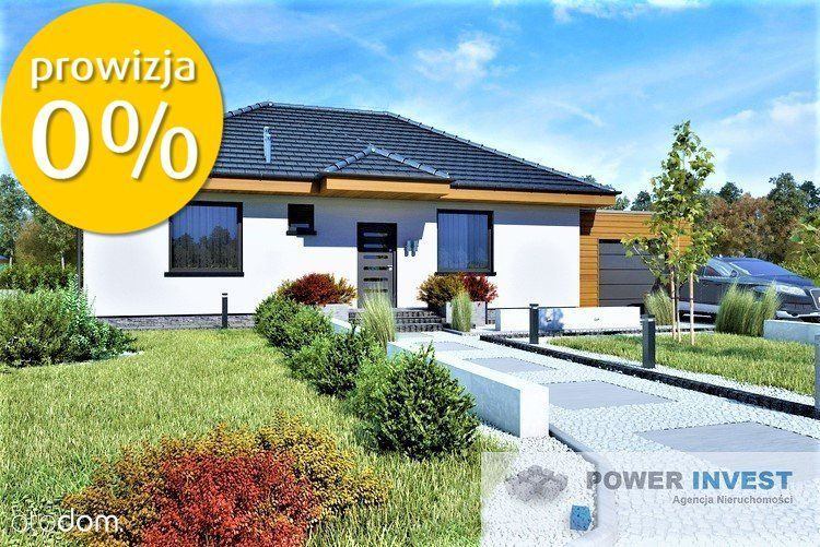 !!! Parterowy Dom W Mikołowie 96.6m2 p.u.!!!