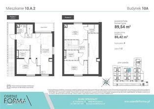 10.A.2 Mieszkanie 4-pokoje, indywidualnym wejściem