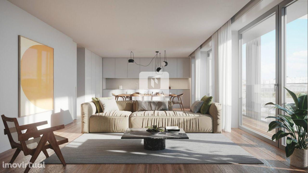 Apartamento T2 Novo em Matosinhos Sul.