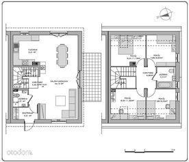dom typu F - prawie 110 m2 na działce 980 m2