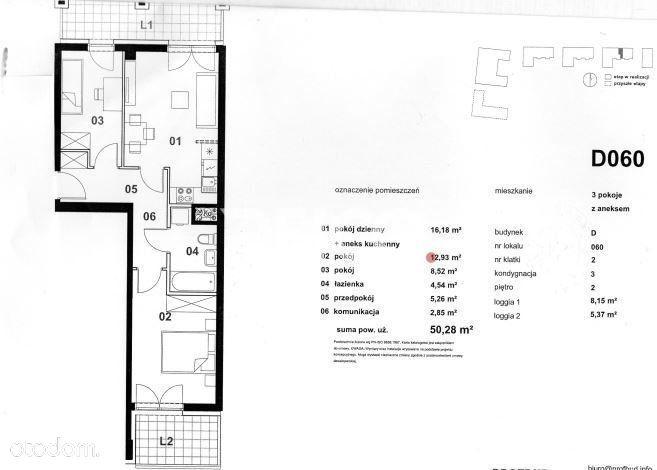 Nowe Trzy Pokoje Dwa Balkony