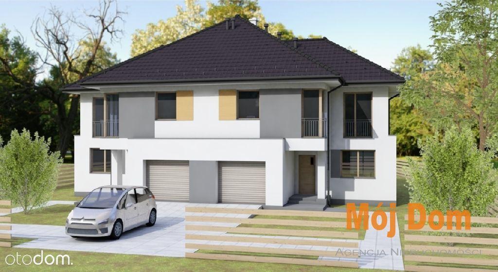 Nowa inwestycja,piętrowe domy w zabudowie bliźniac