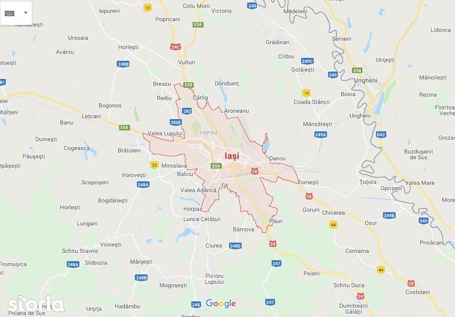 Licitatie publica teren intravilan 44.226,87 mp Fortus
