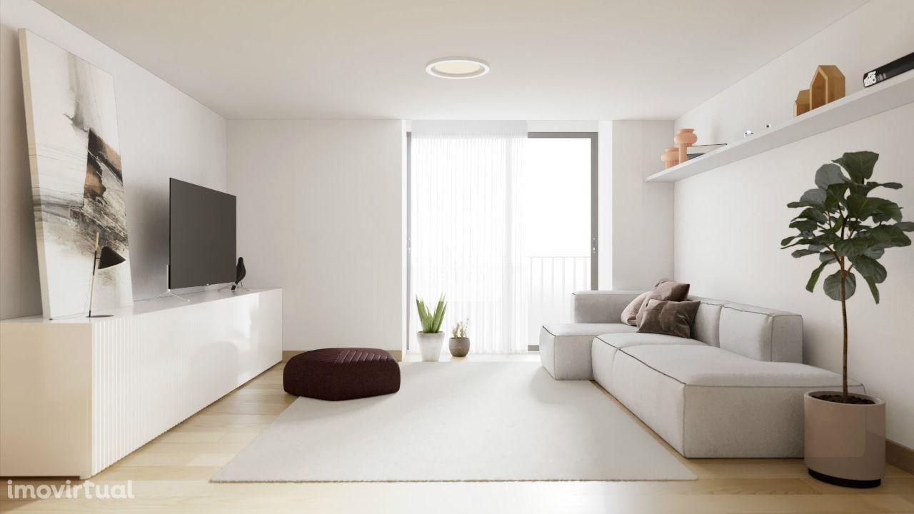 Apartamento T2 ao Cais de Gaia.