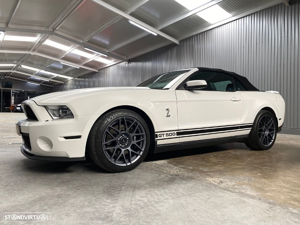 Ford Mustang GT500 Cabrio 5.4 V8 Supercharged - 48