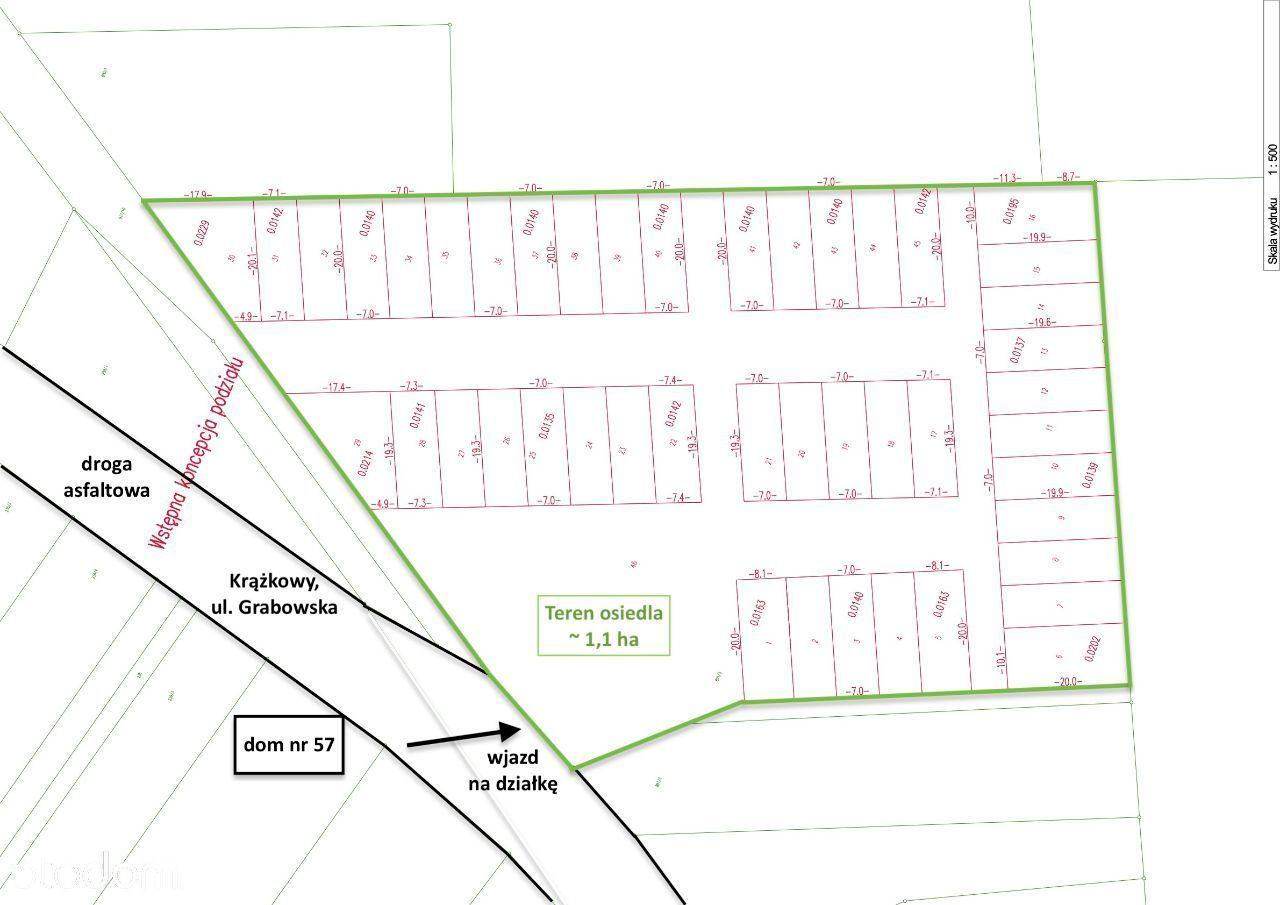 1 hektar pod osiedle mieszkaniowe