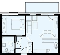 Nowe mieszkanie 45, 64 mkw Manhattan Residence