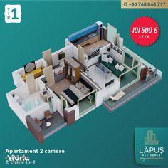 LĂPUŞ Residence - Apartamente De LUX - Apartament 2 camere - Tip 1