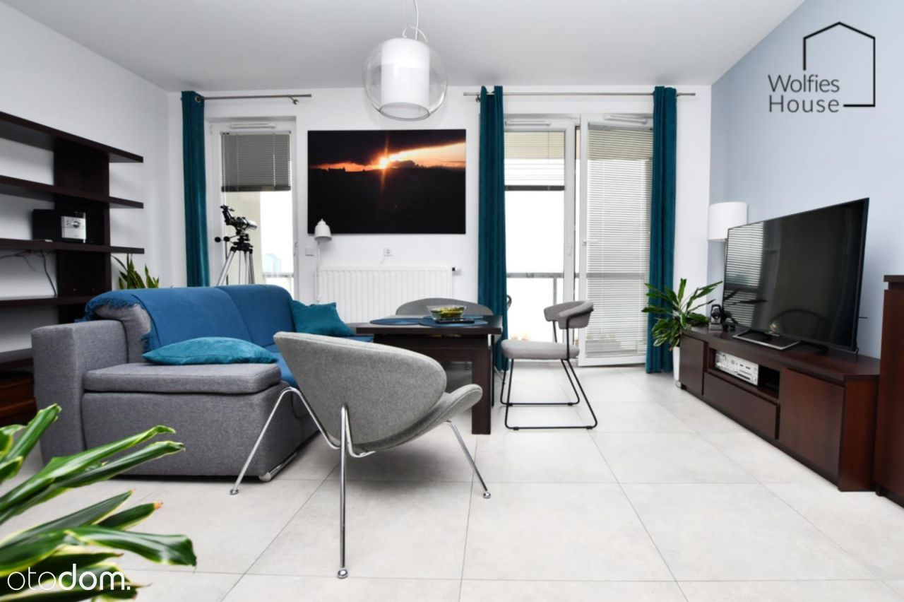 Widokowy apartament | Fabryczna | Art City | Eng