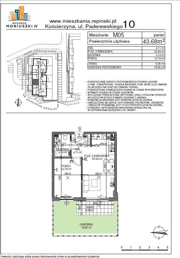 2 pokoje - NOWE mieszkanie własnościowe#KASZUBY