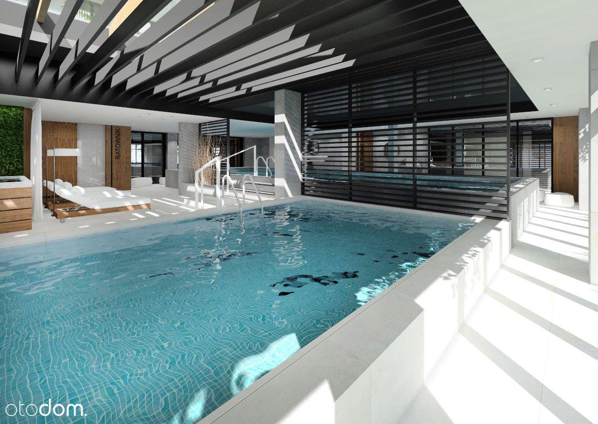 basen sauna jacuzzi restauracja bawialnia