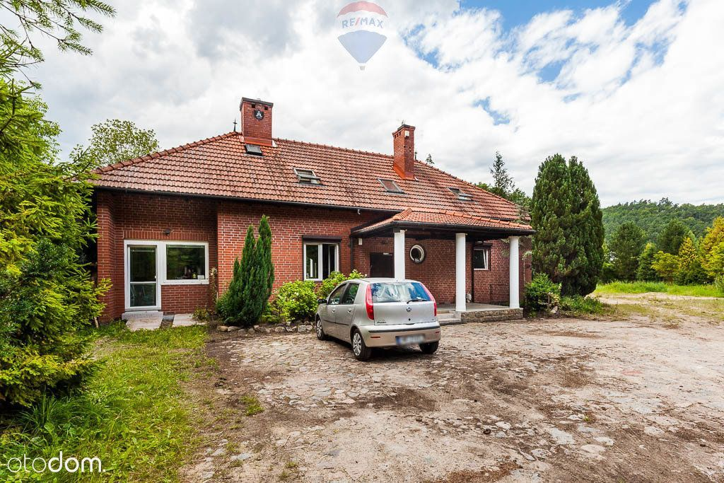 Rumia/Gdynia: Dom/Pensjonat 250m2 + działka 5600m2