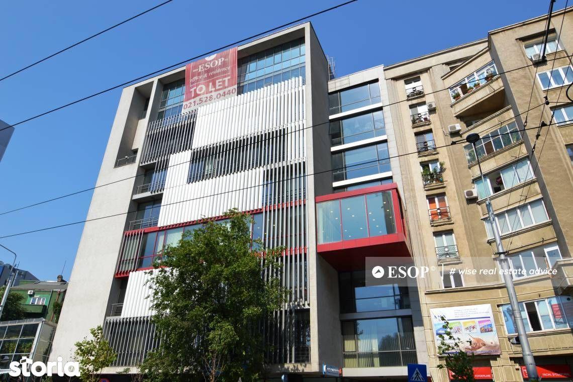 Buzesti 85 Office Building, spatii de birouri 374-1.539mp, 0% comision