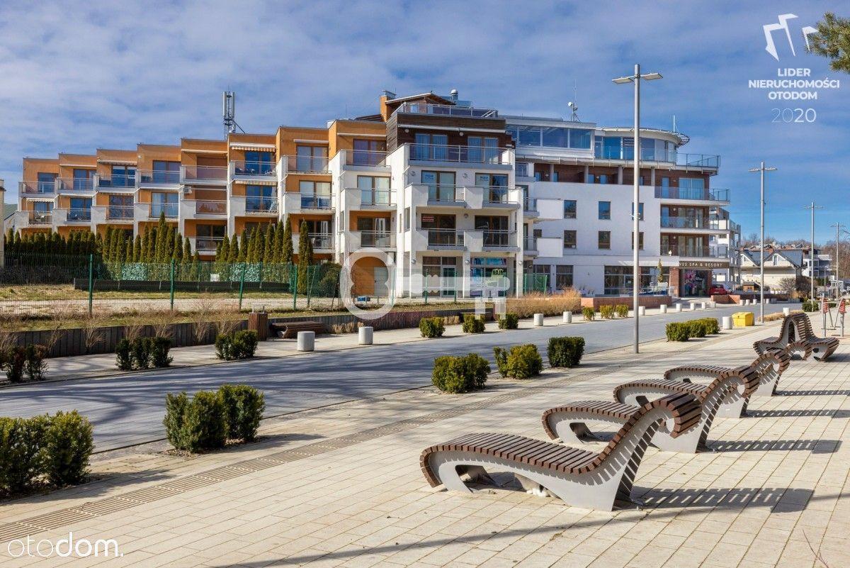 Dwupoziomowy apartament z widokiem na morze