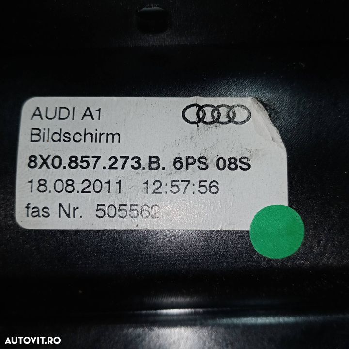 Display bord Audi A1 2010-2018 - 4