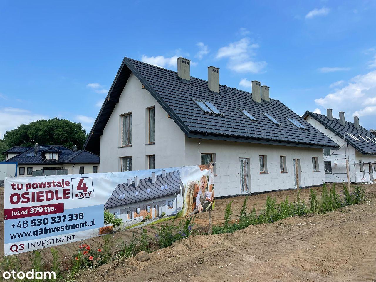 Piękne domy koło Włoclawka