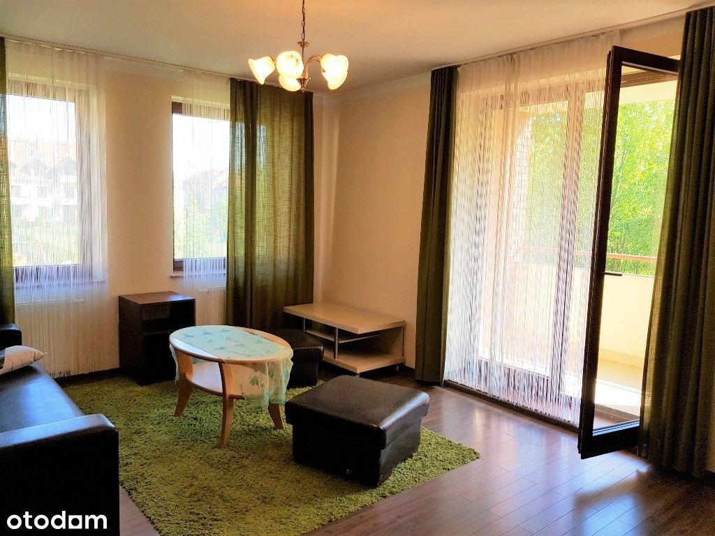2 pokoje +kuchnia z oknem 50m2+ balkon