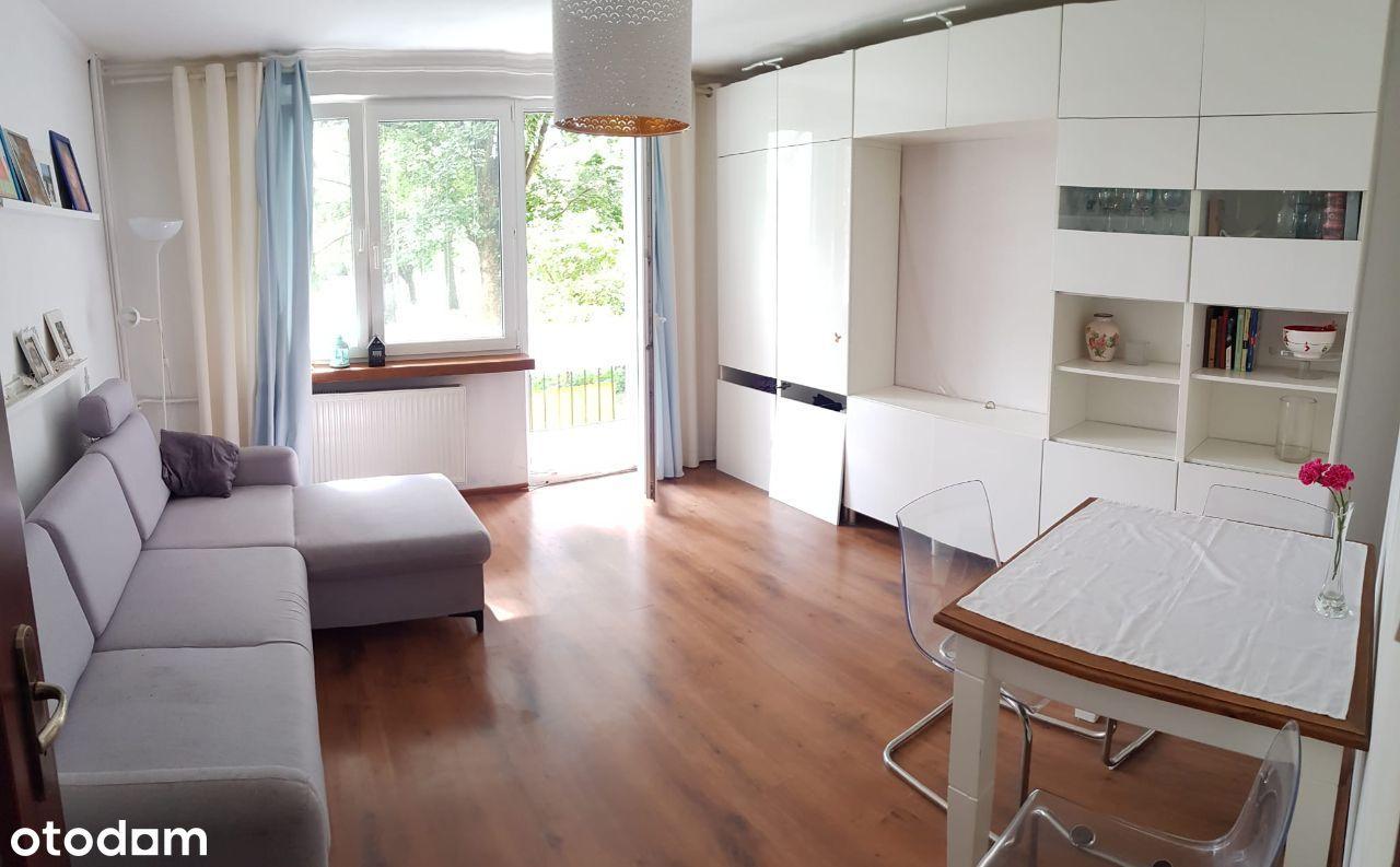 Mieszkanie 3 pokoje + balkon ustawne, parter