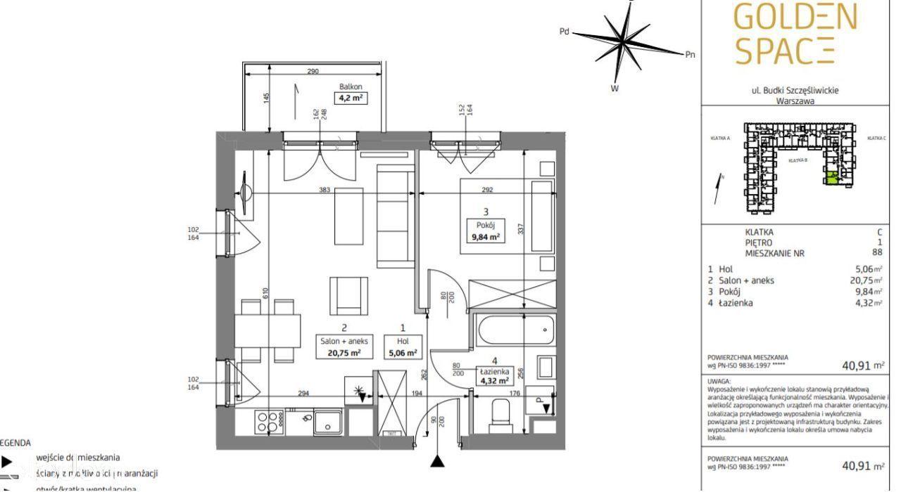 2 pokoje, Włochy, ul. Budki Szczęśliwickie 40 m2