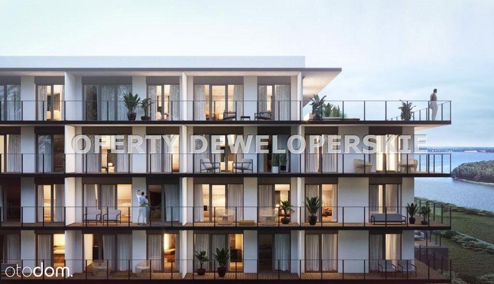 Ustawny apartament z dużym balkonem w Dziwnowie