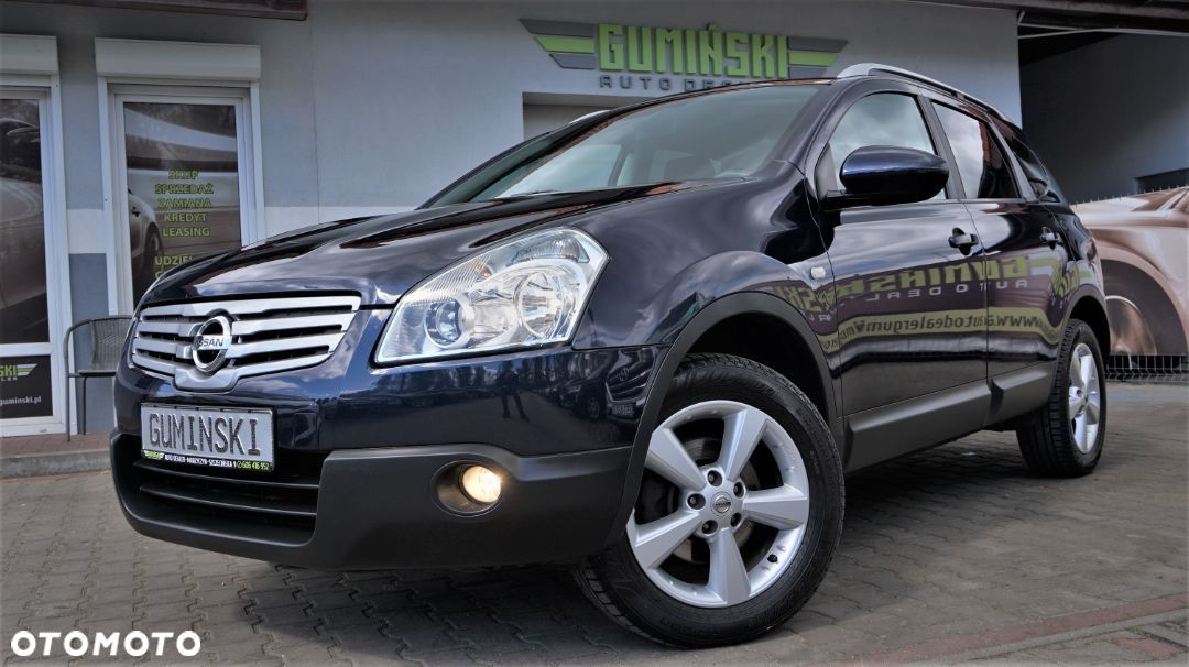 Nissan Qashqai+2 1.6Benzyna 115PS*Panorama*Tempomat*PDC*7Osobowy*Bezwypadkowy - 1