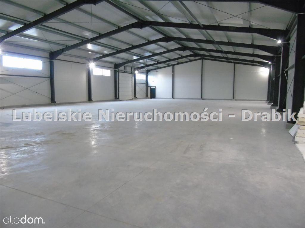 Hala ok. 630 m2 -magazyn- Rampa,