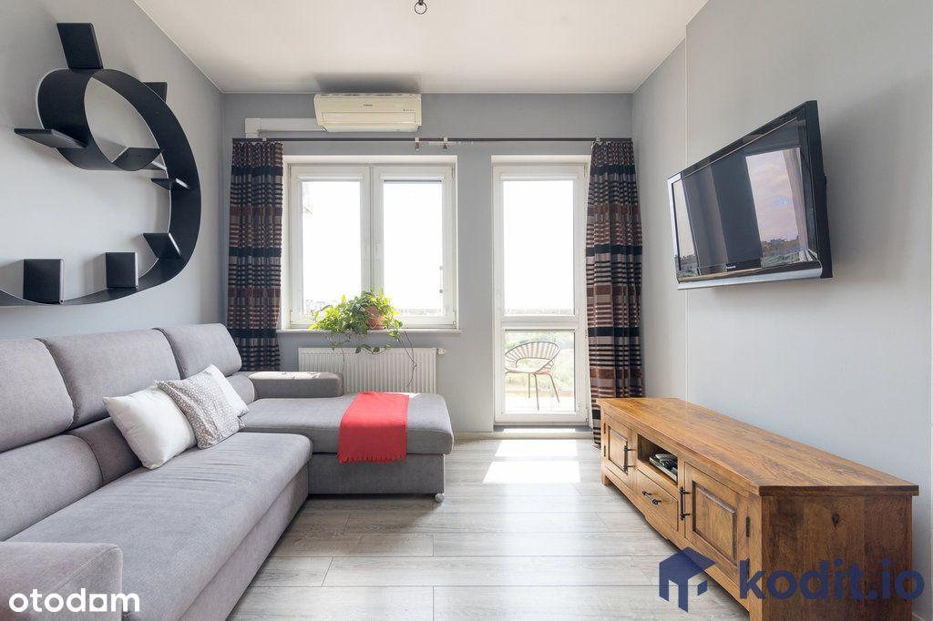 Klimatyzacja, 2 pokoje, wyposażone, balkon, garaż.